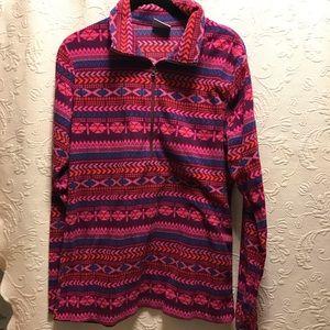 Columbia Fleece ZIP up Sweatshirt Size L